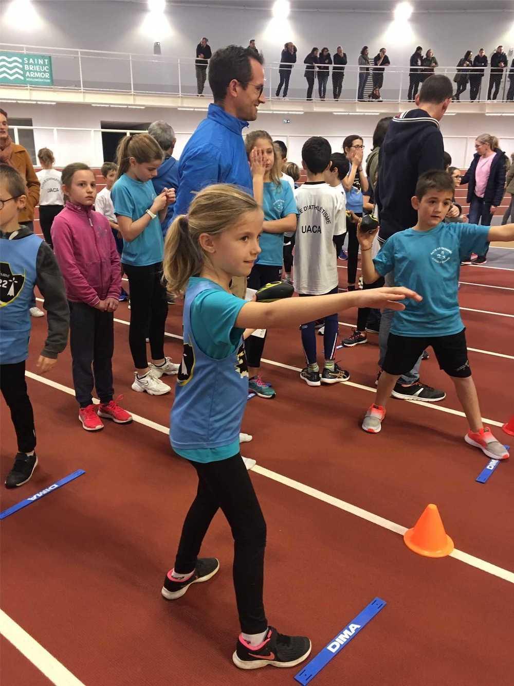 JSP Athlétisme : photos de la rencontre départementale image2