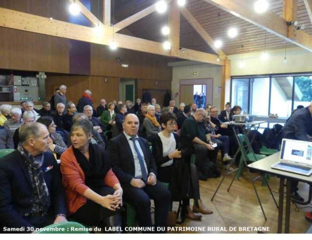 Samedi 30 novembre : photos du Label Commune Patrimoine Rural de Bretagne image7