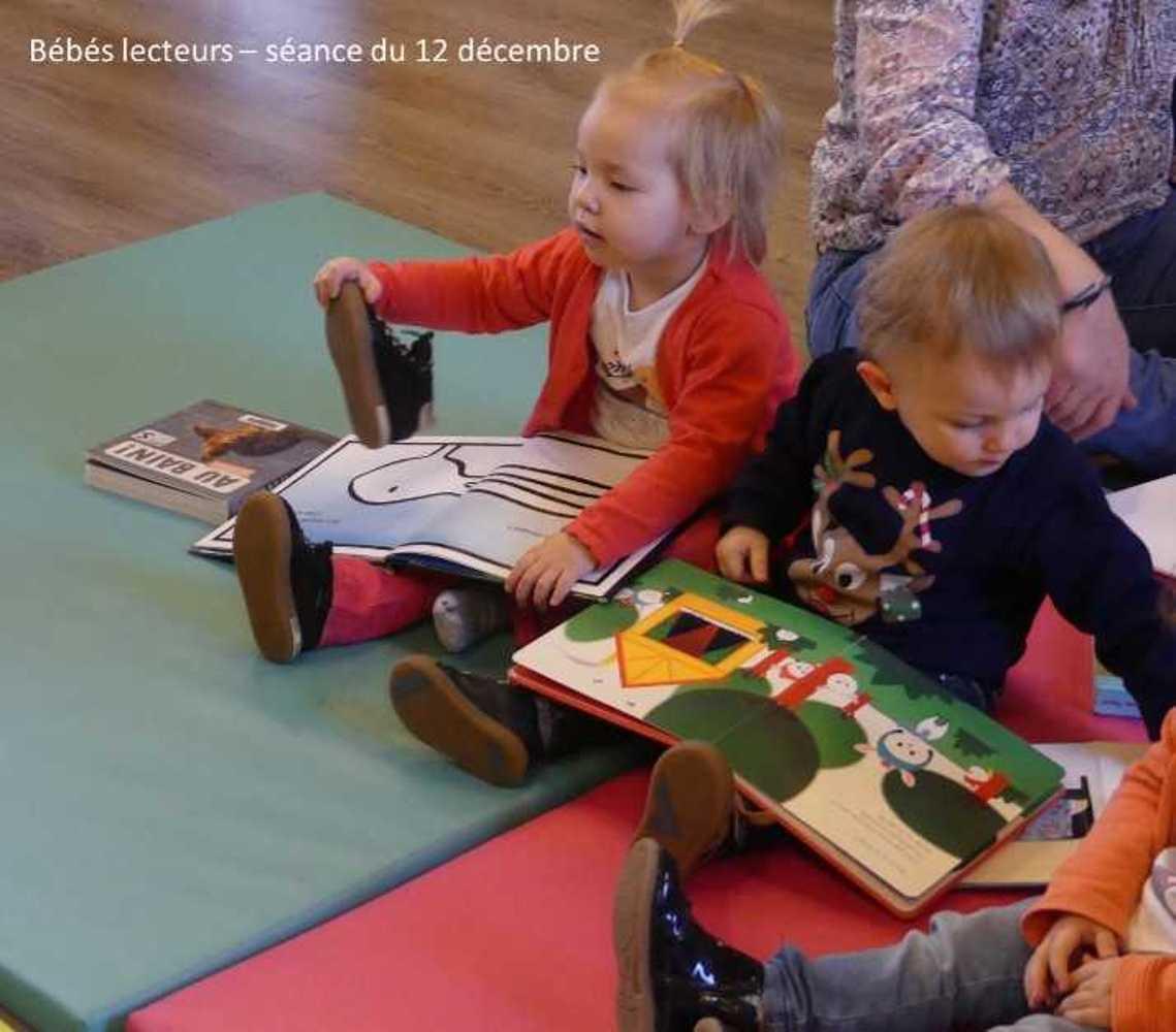 Photos et vidéo de la séance des bébés lecteurs du 12 décembre image1
