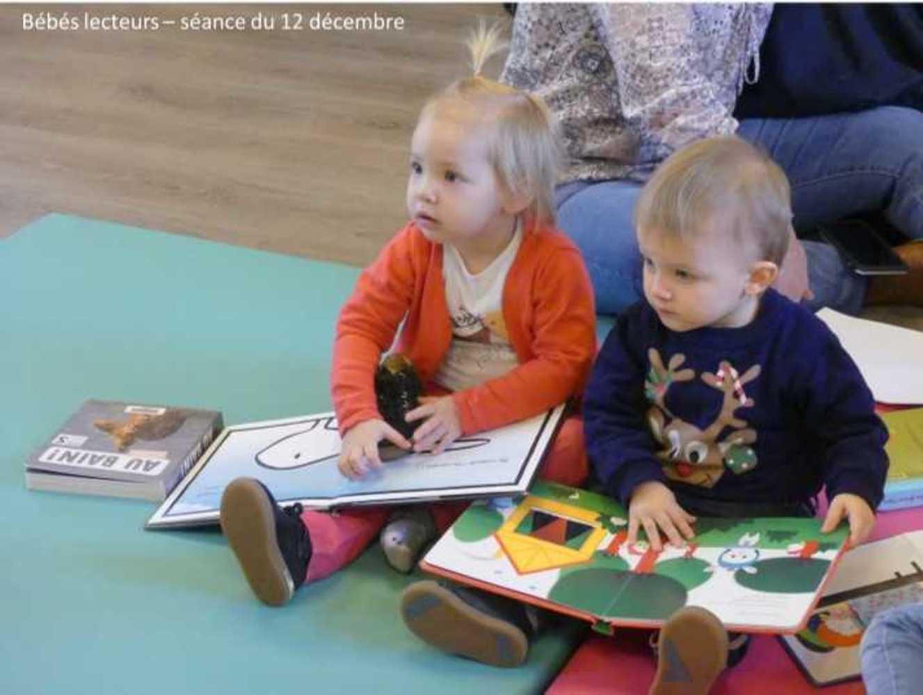 Photos et vidéo de la séance des bébés lecteurs du 12 décembre image2