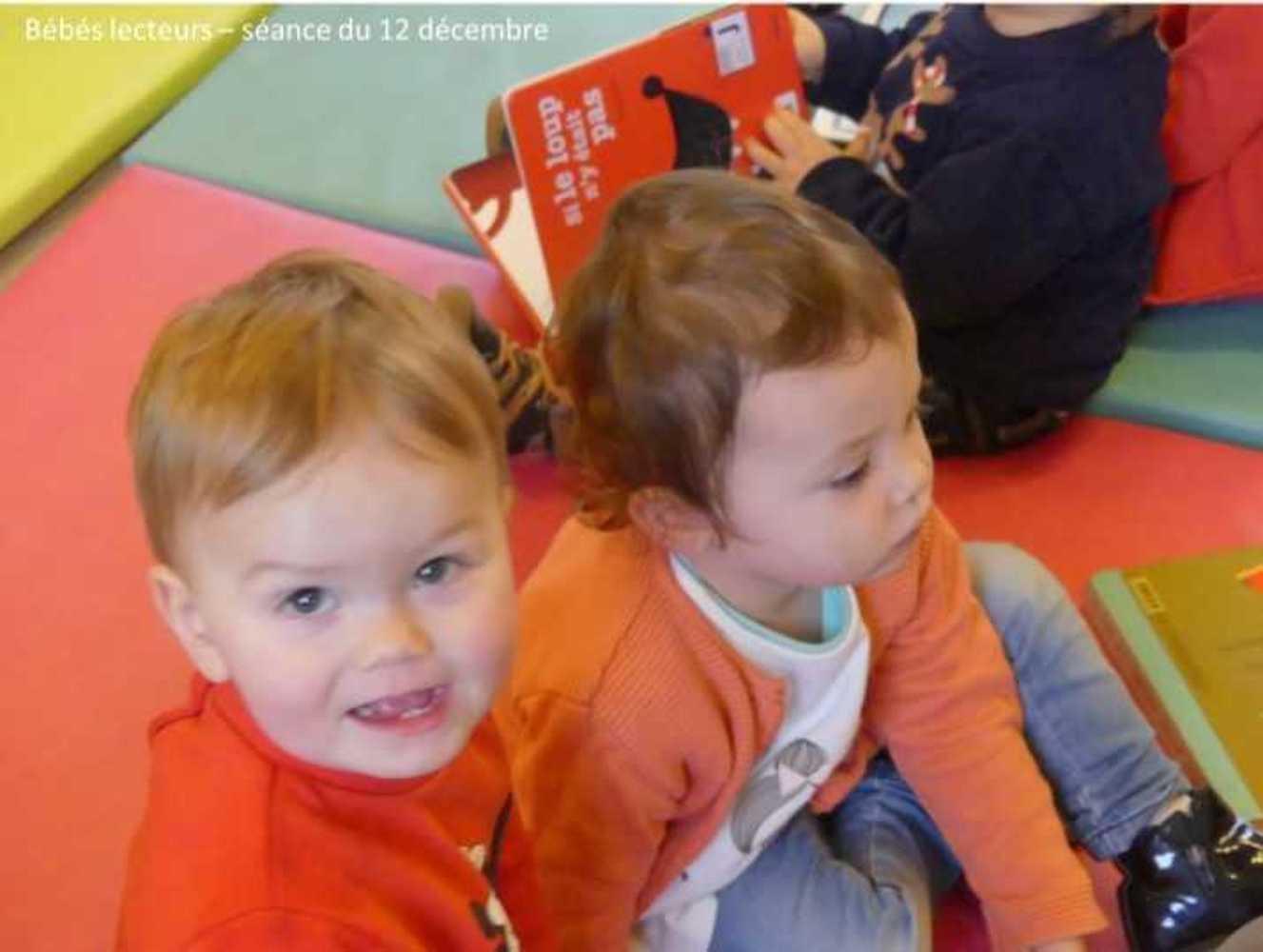 Photos et vidéo de la séance des bébés lecteurs du 12 décembre image4