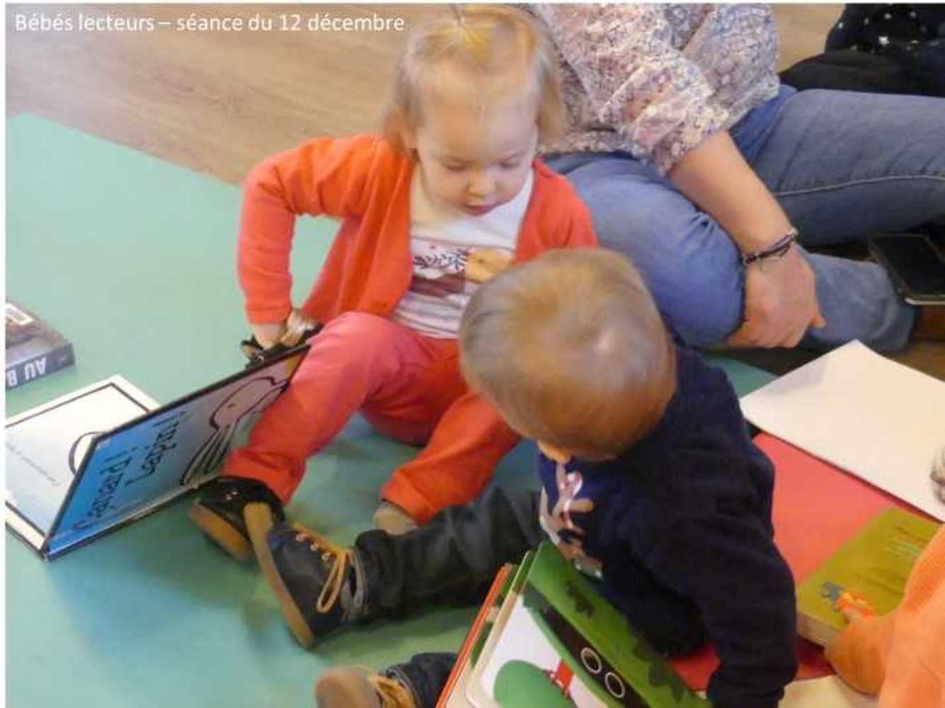Photos et vidéo de la séance des bébés lecteurs du 12 décembre image6