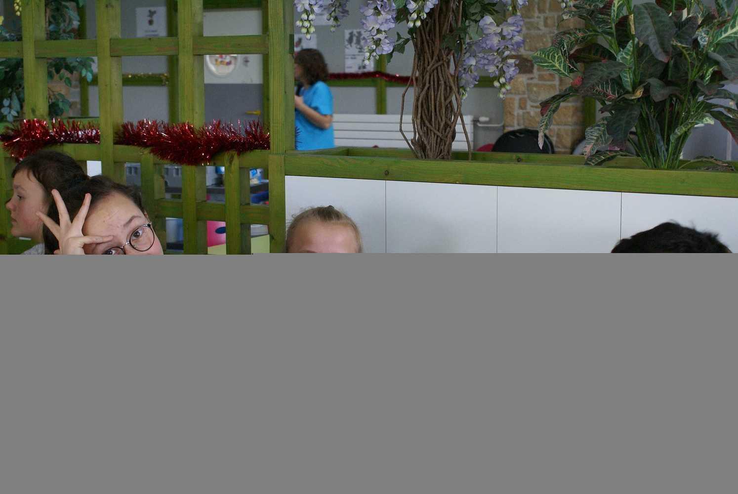 Noël au restaurant scolaire dsc03558