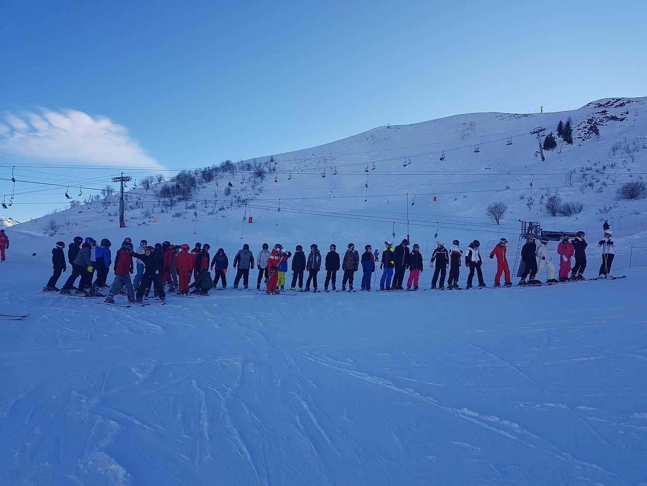 Photos des élèves de 4ème en classe de neige 20200107142251