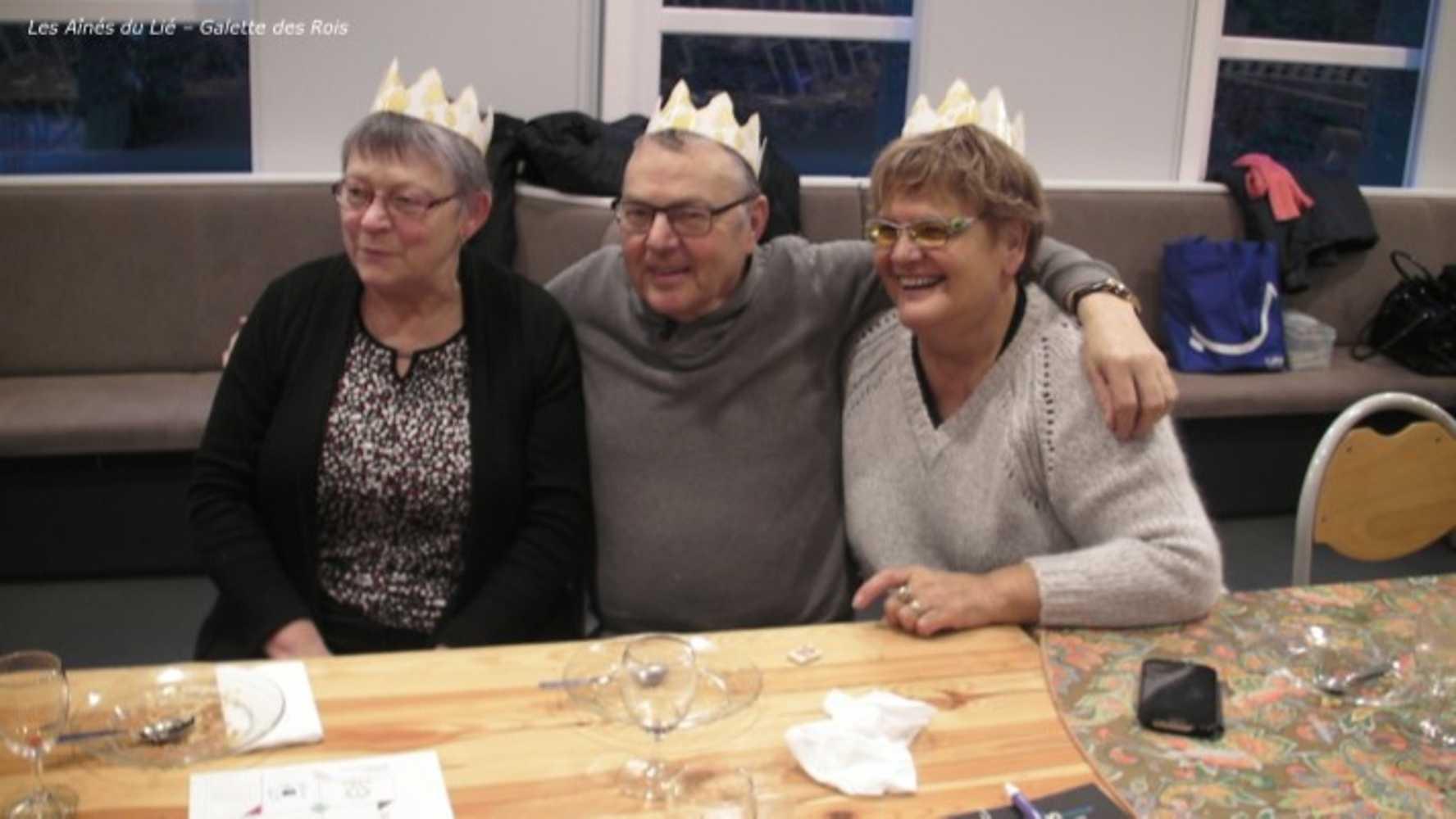 Les Aînés du Lié : photos de la galette des rois image15