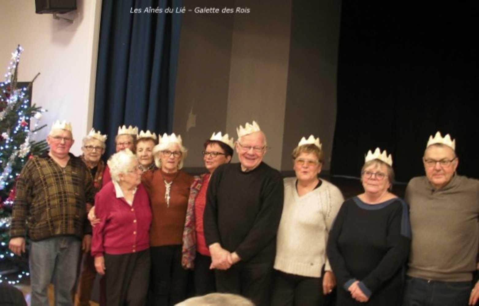 Les Aînés du Lié : photos de la galette des rois 0