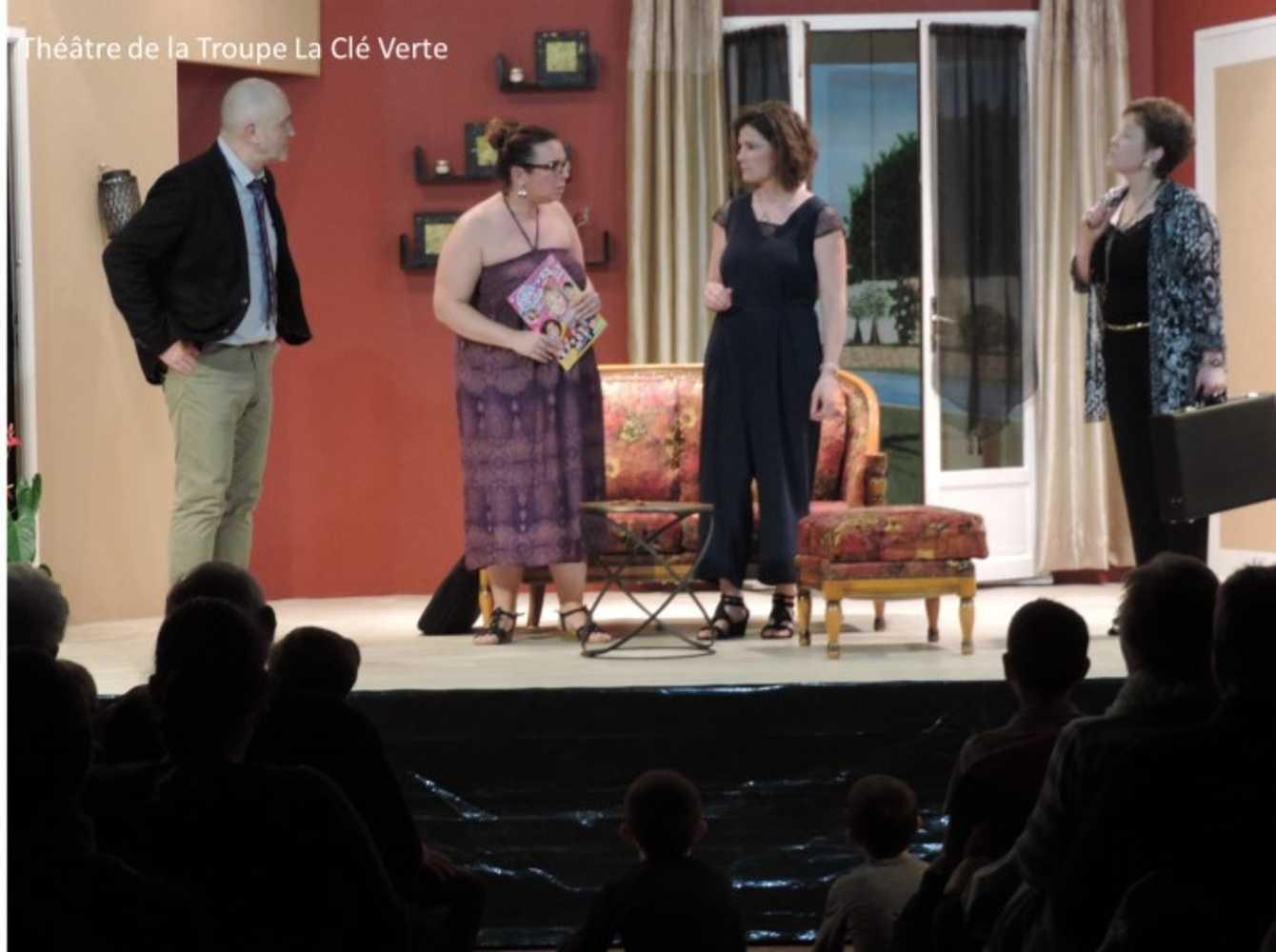 Troupe de théâtre la Clé Verte : photos des représentations image10