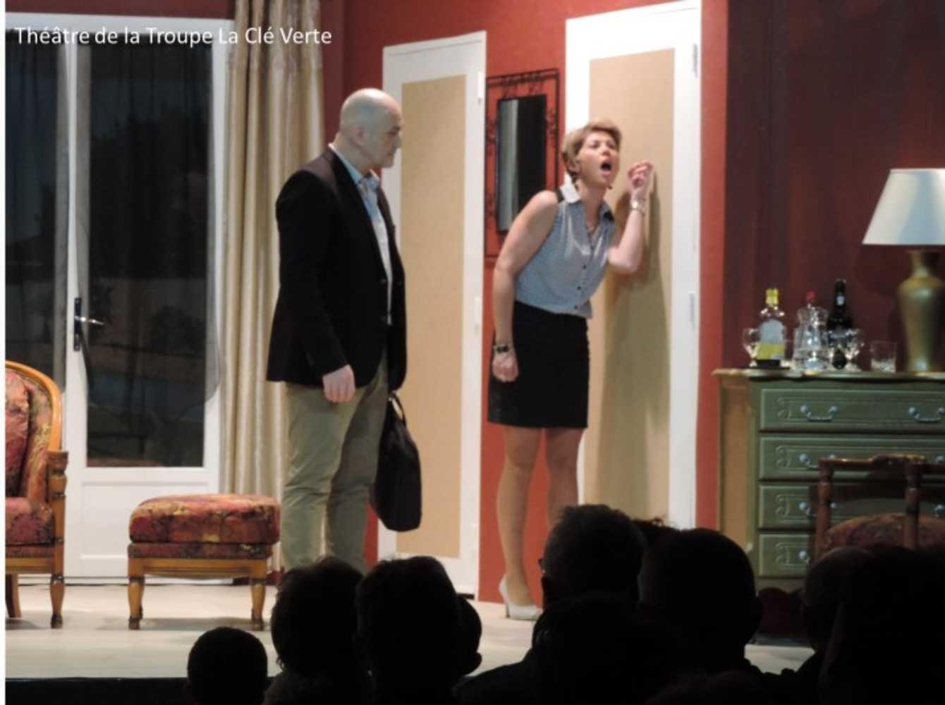Troupe de théâtre la Clé Verte : photos des représentations image2