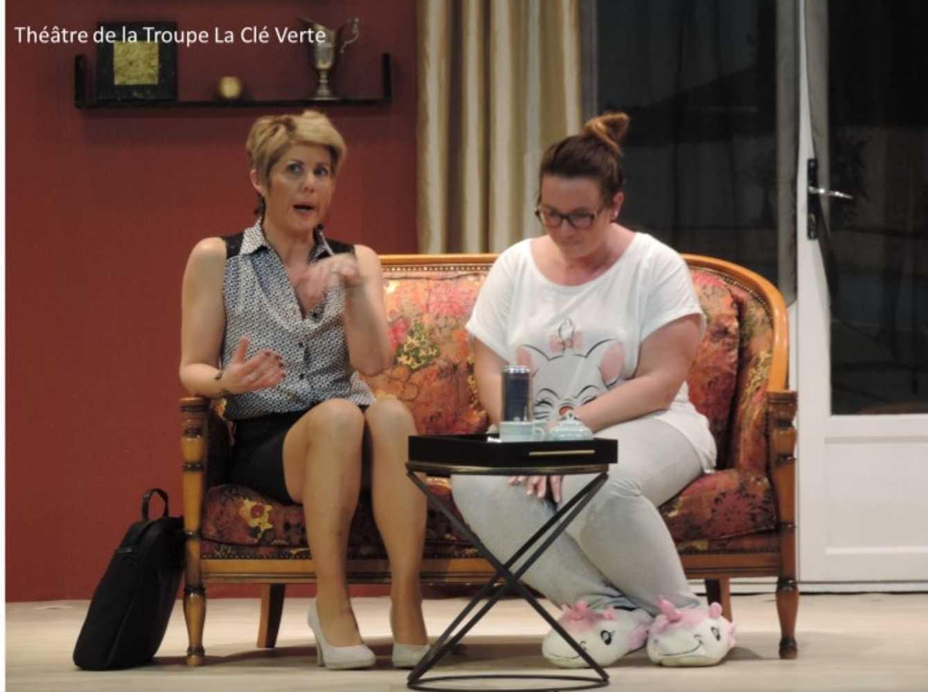 Troupe de théâtre la Clé Verte : photos des représentations image6