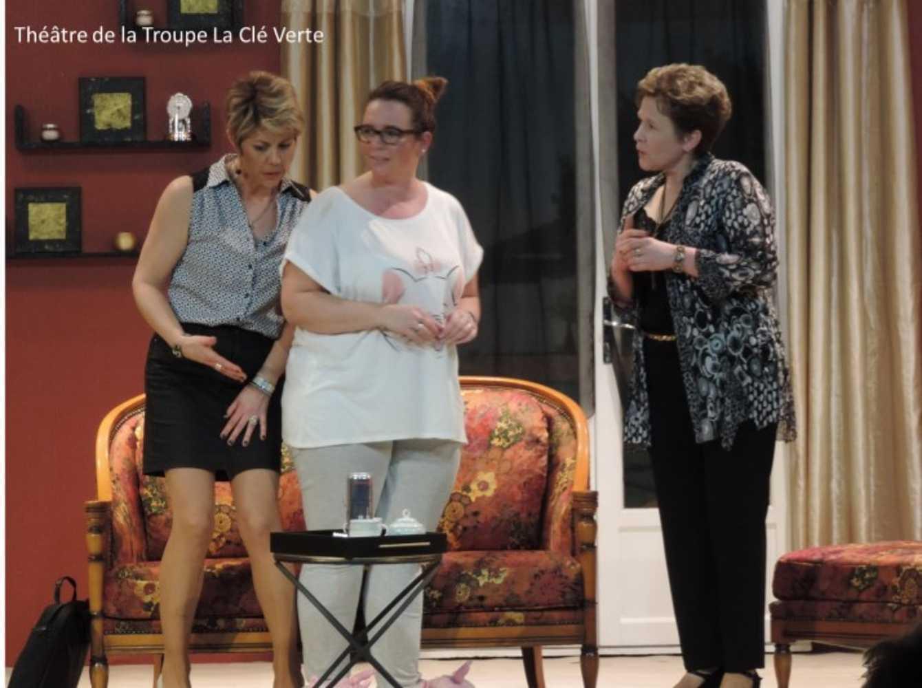 Troupe de théâtre la Clé Verte : photos des représentations image7