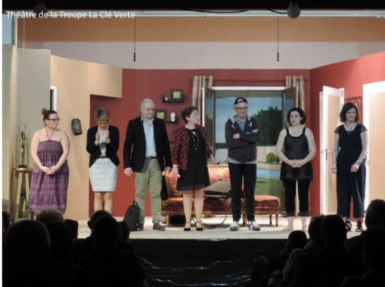 Troupe de théâtre la Clé Verte : photos des représentations 0