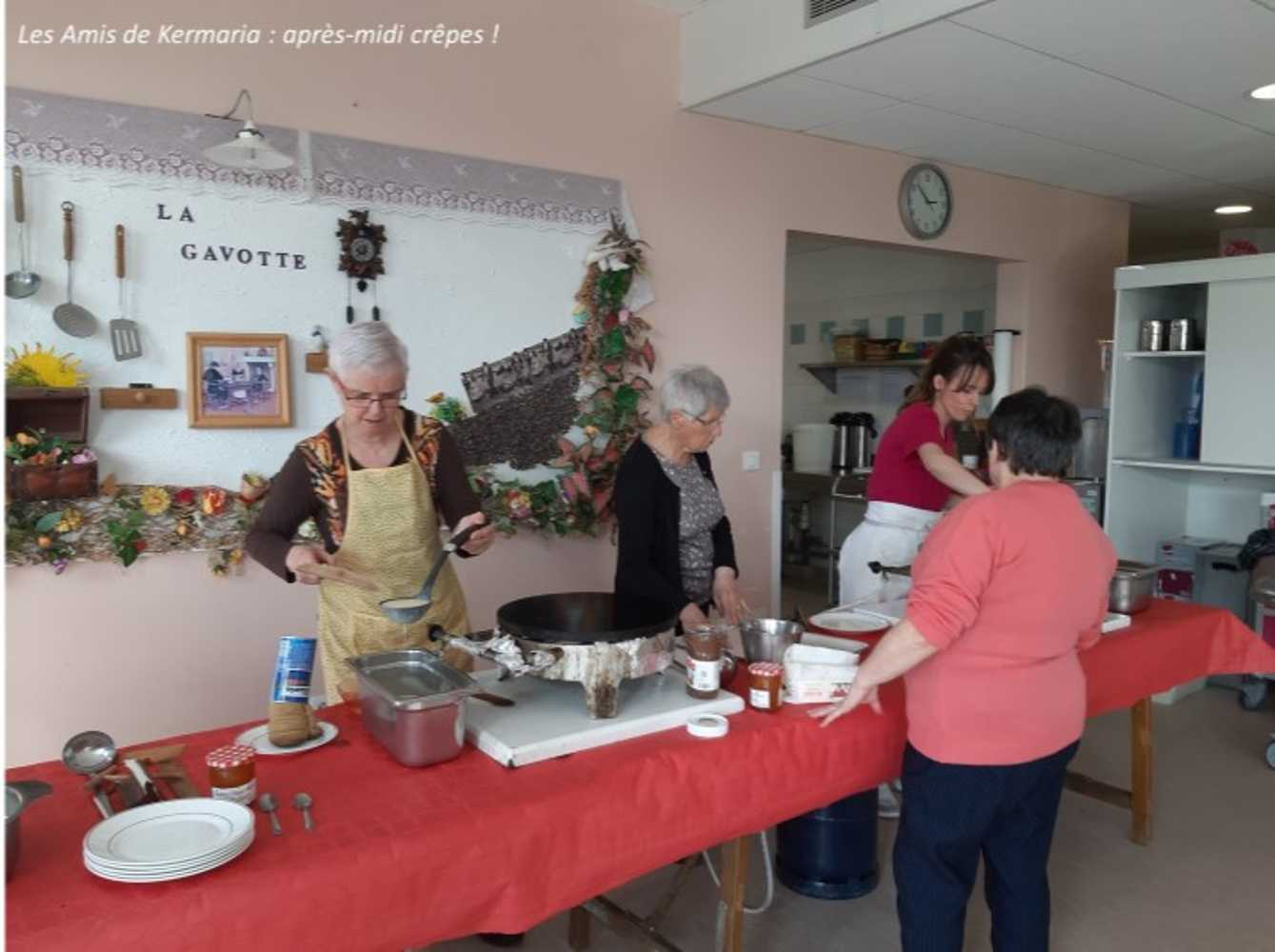 Les Amis de Kermaria : photos de l''après-midi crêpes ! image1