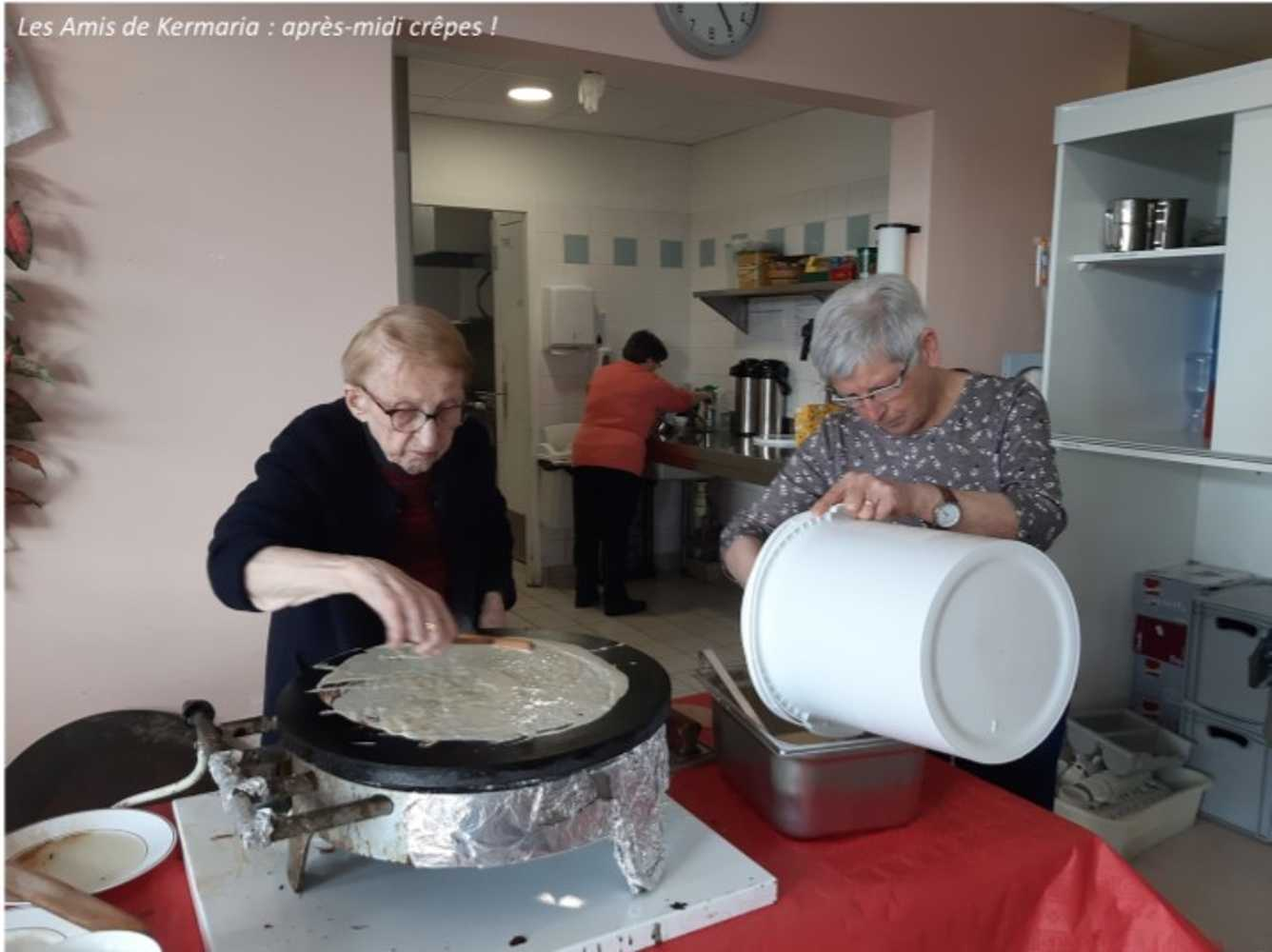 Les Amis de Kermaria : photos de l''après-midi crêpes ! image4