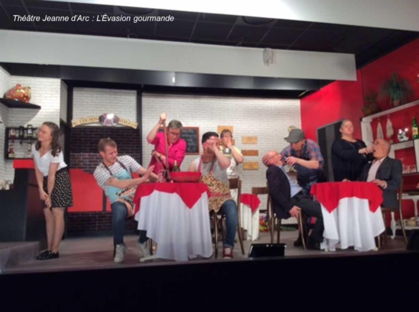 Théâtre Jeanne d''Arc : photos de l''évasion gourmande 0