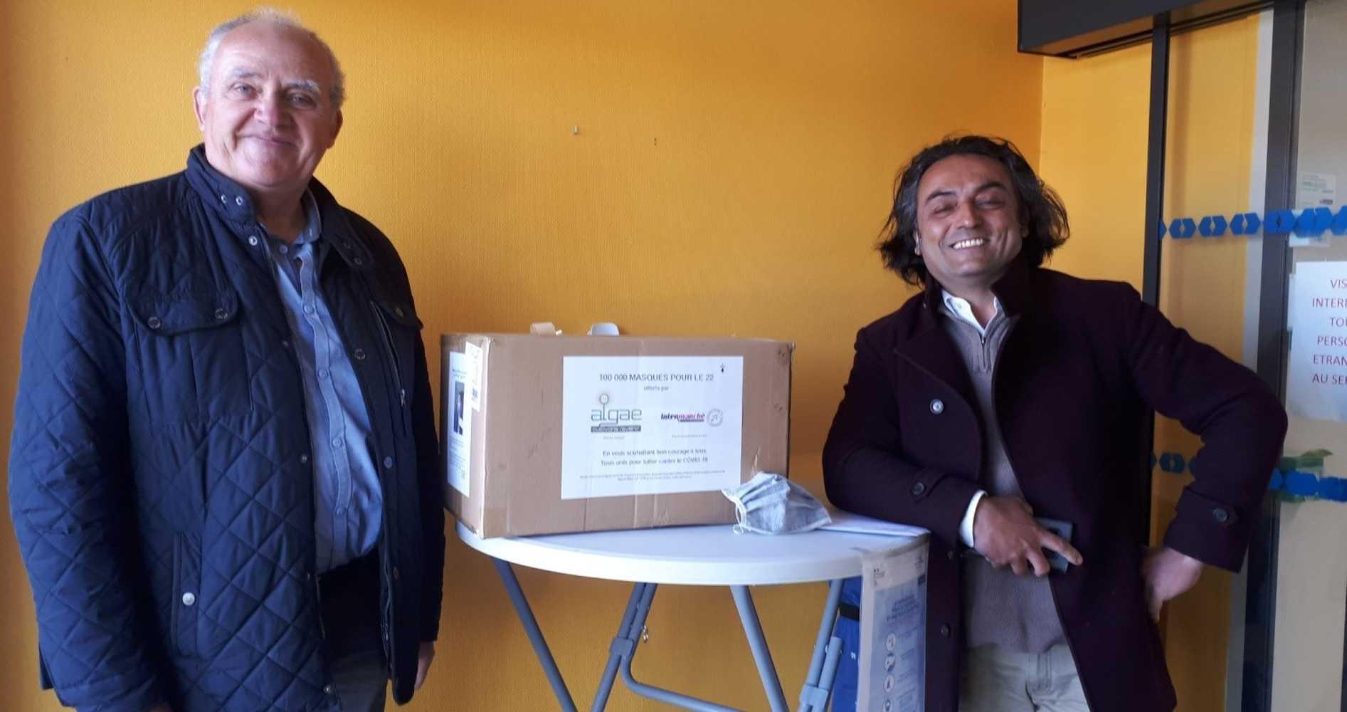 Kermaria : Tous unis contre le Covid 19 distributionmasques