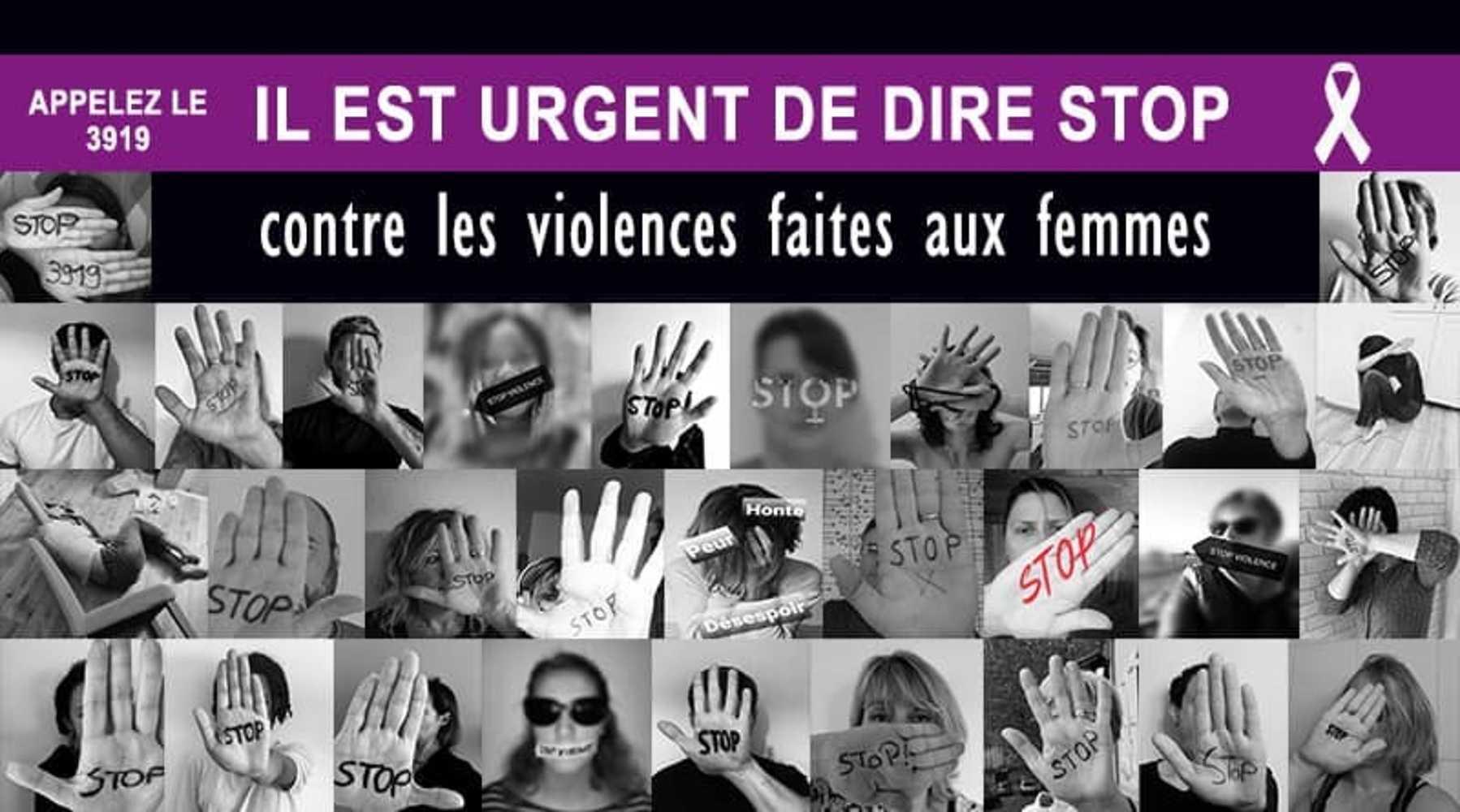 Il est urgent de dire STOP contre les violences faites aux femmes 0