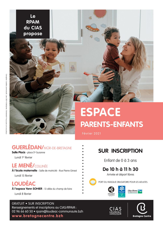 Espace Parents-Enfants  Février 2021 - Organisé par le RPAM du CIAS 0