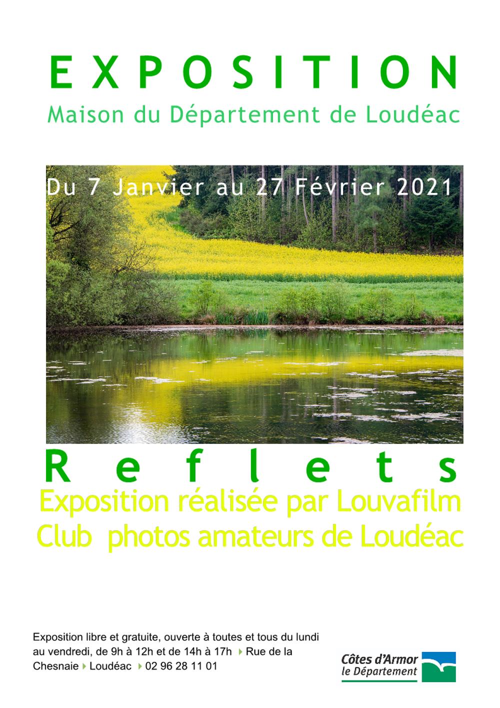 """Exposition """"Reflets"""" à la Maison du Département de Loudéac 0"""