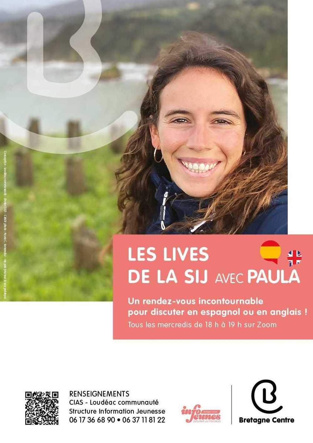 Les Lives de la SIJ avec Paula 0