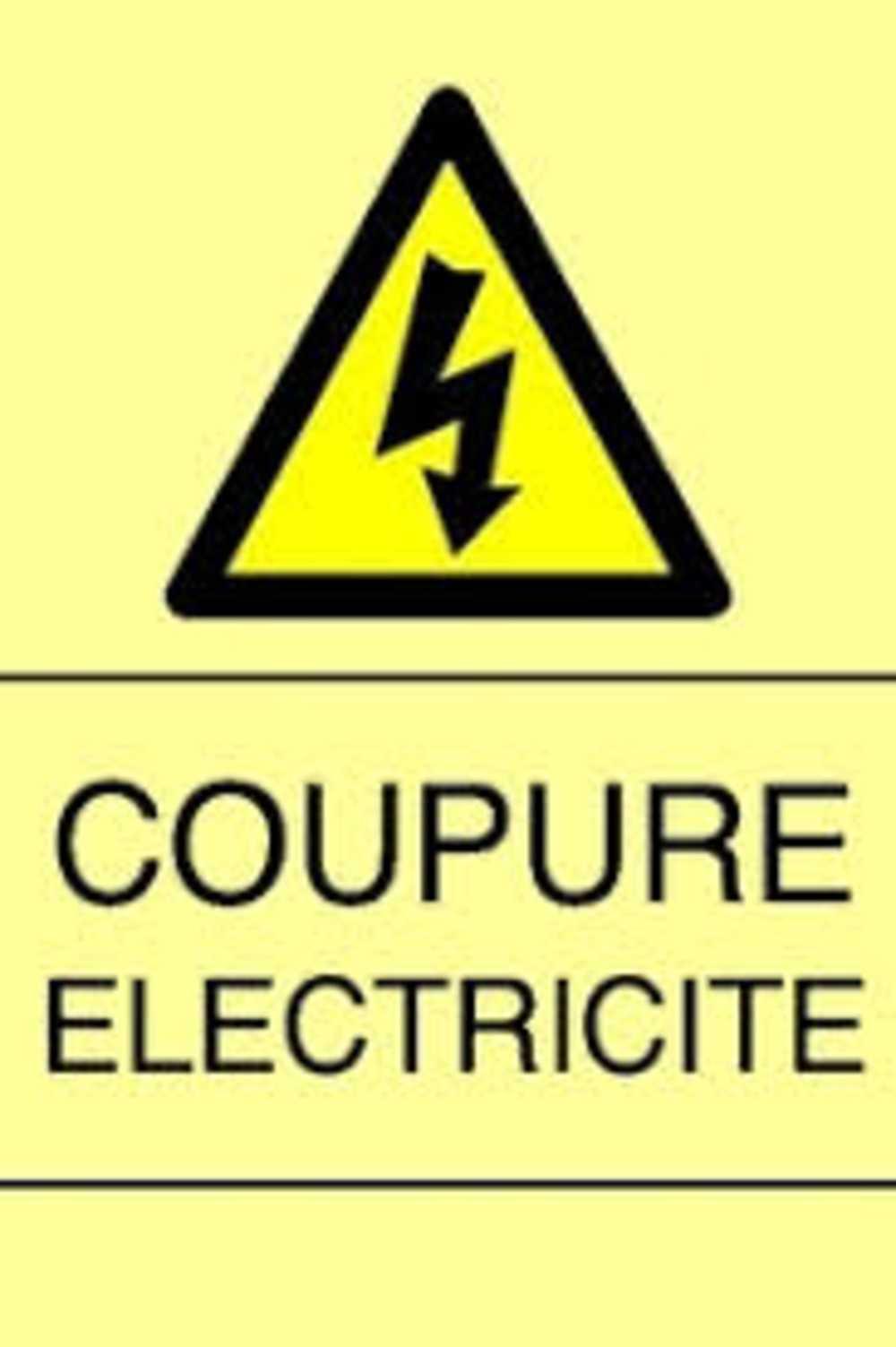 Coupure d''électricité 0