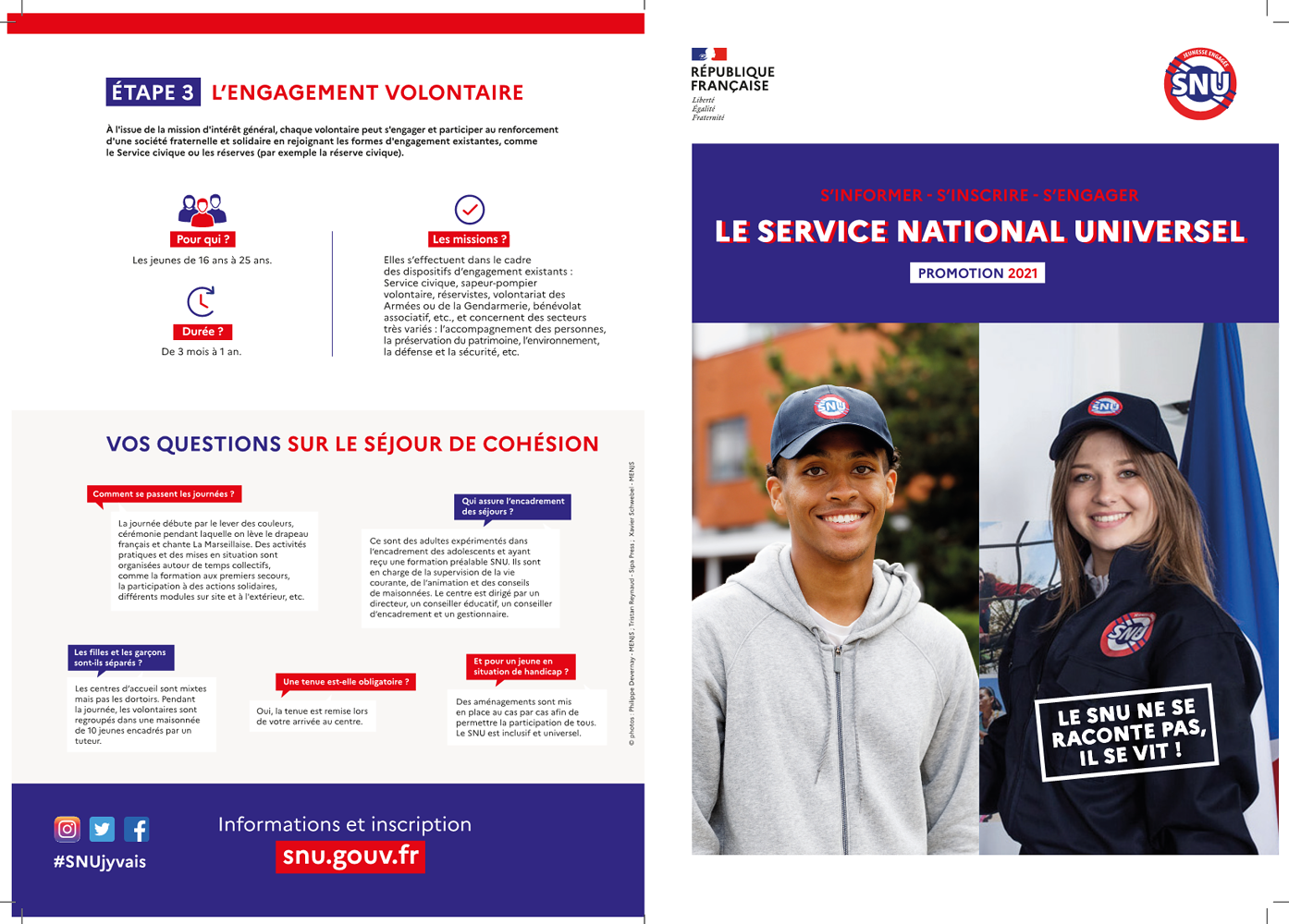 Le Service National Universel 0