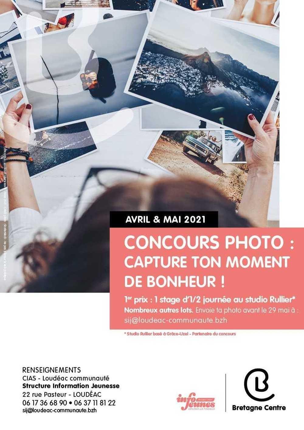 """Concours photo - SIJ """"Capture ton moment de bonheur"""" 11 à 25 ans 0"""