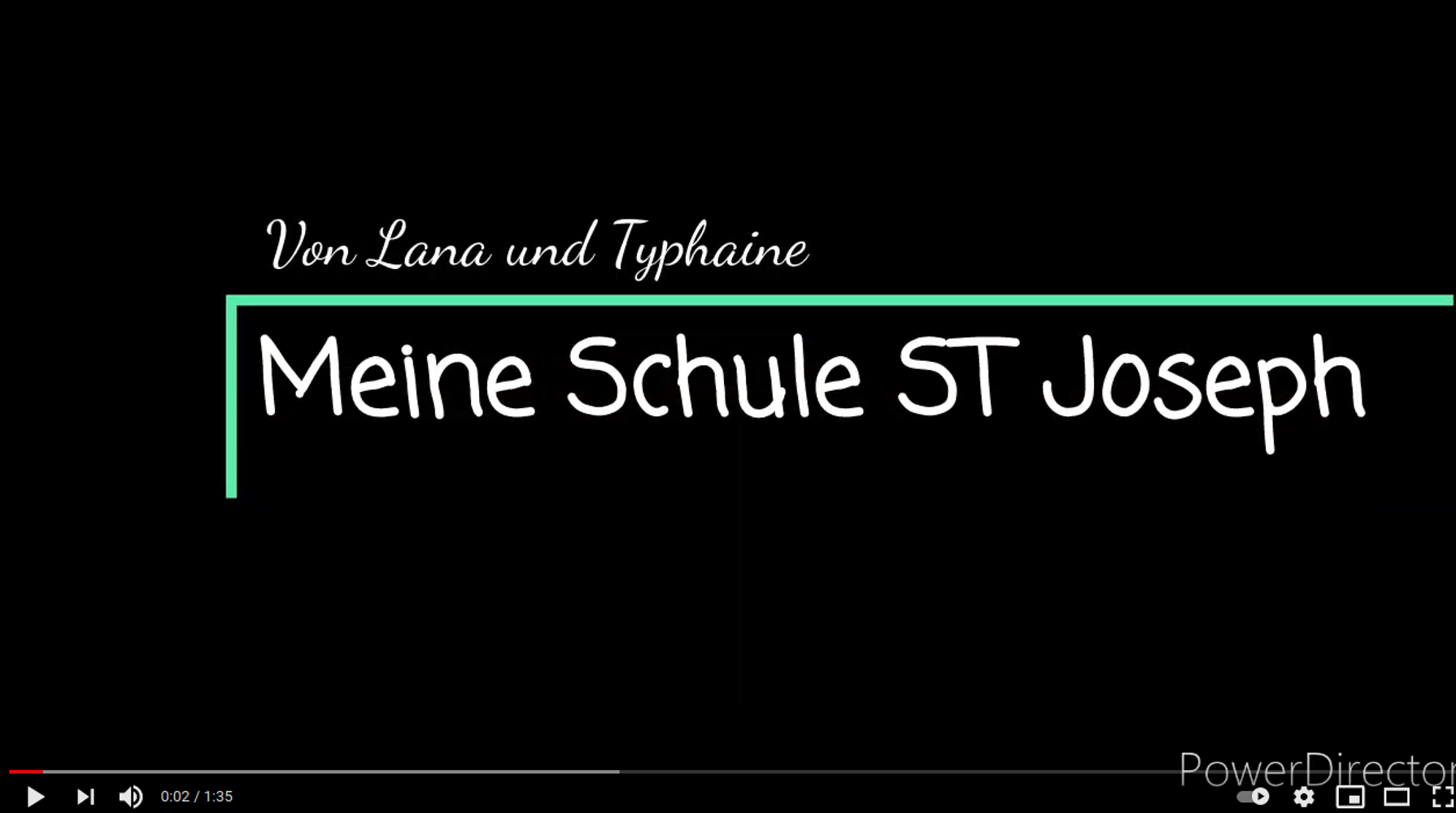 Présentation du collège par Lana et Typhaine - Élèves germanistes 0