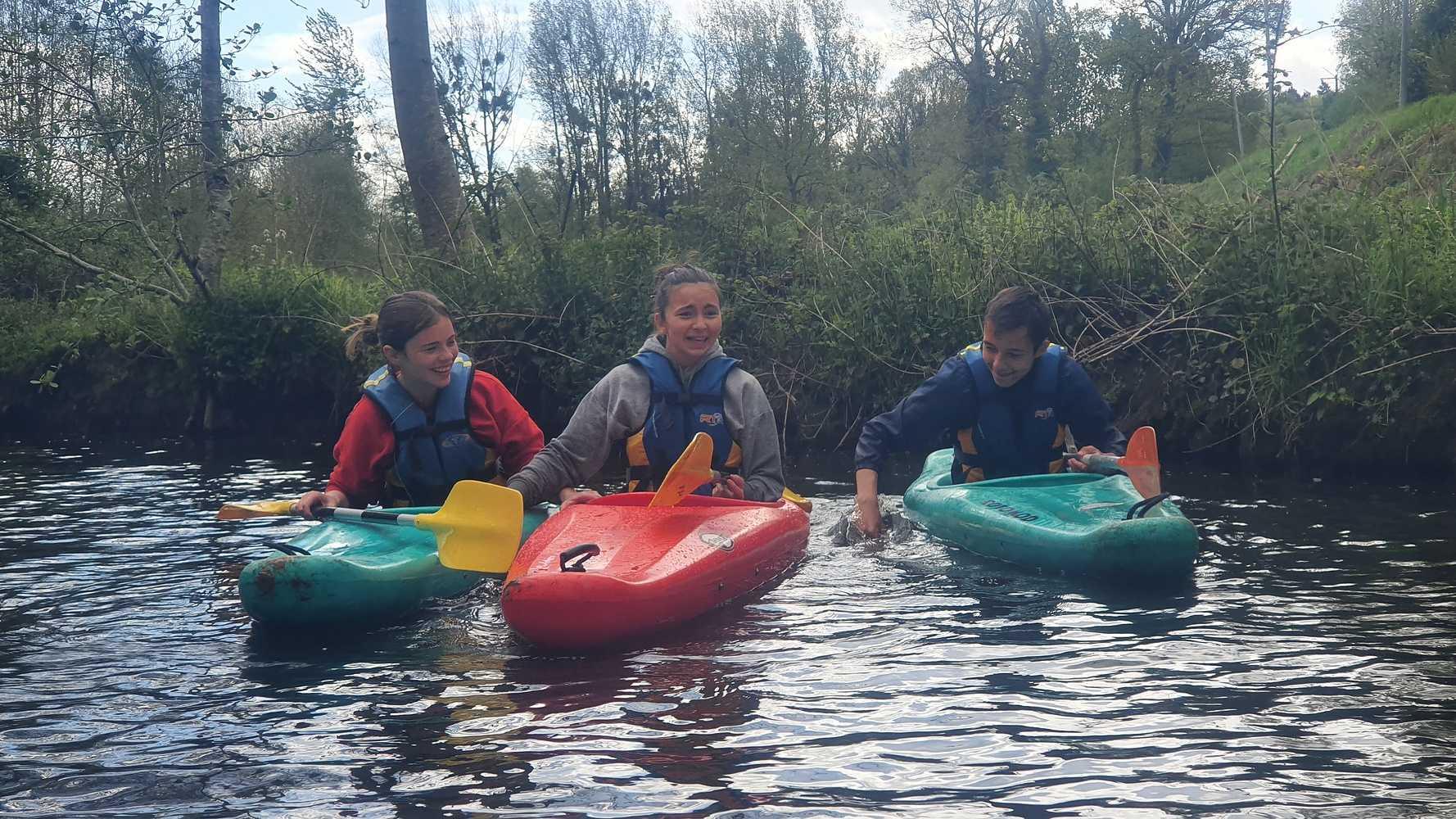 Activité Kayak des élèves de 4ème 20210511120908