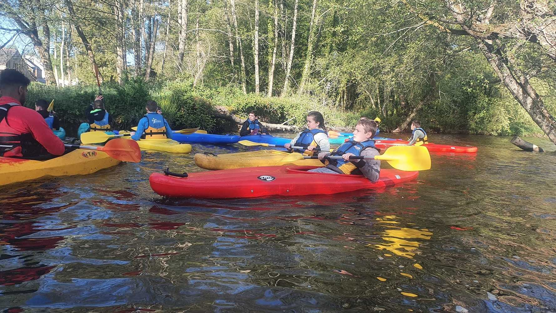 Activité Kayak des élèves de 4ème 0