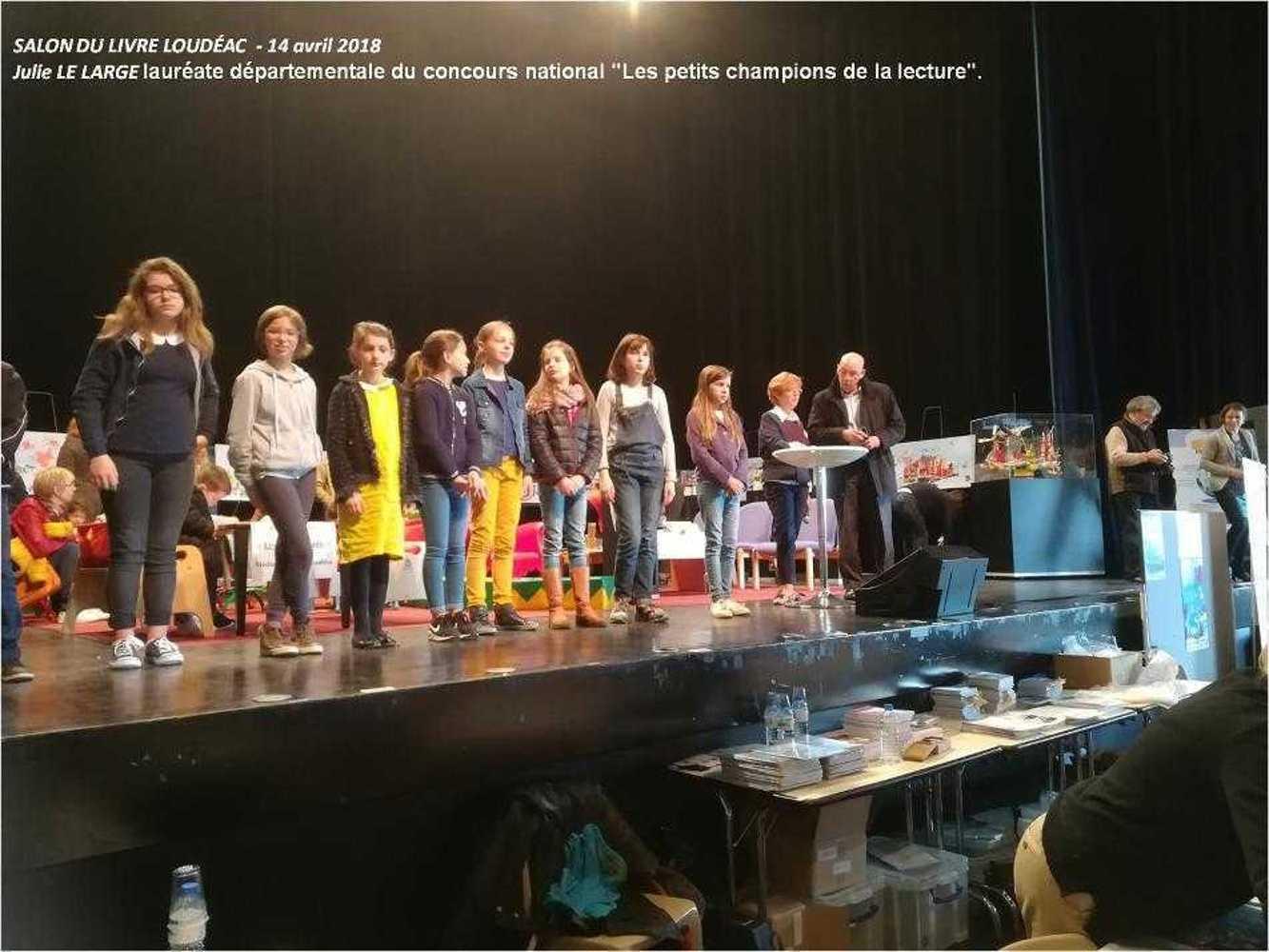 """""""Les Petits Champions de la Lecture"""" image1"""