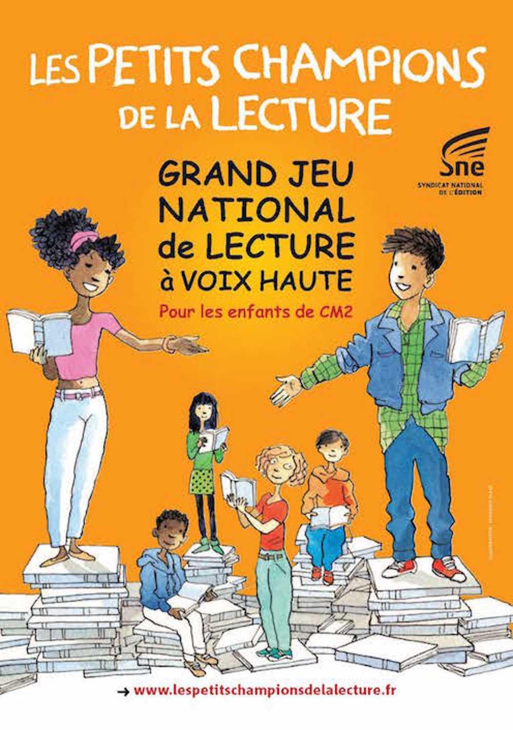 """Les Petits Champions de la Lecture"" 0"