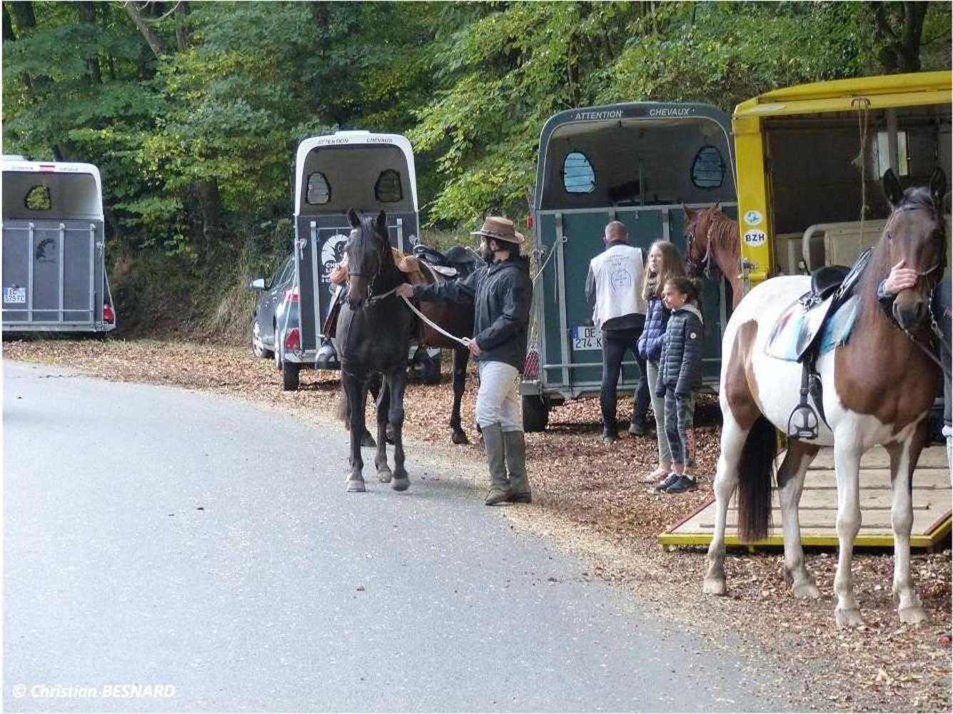 Photos de la randonnée équestre du dimanche 16 septembre image3
