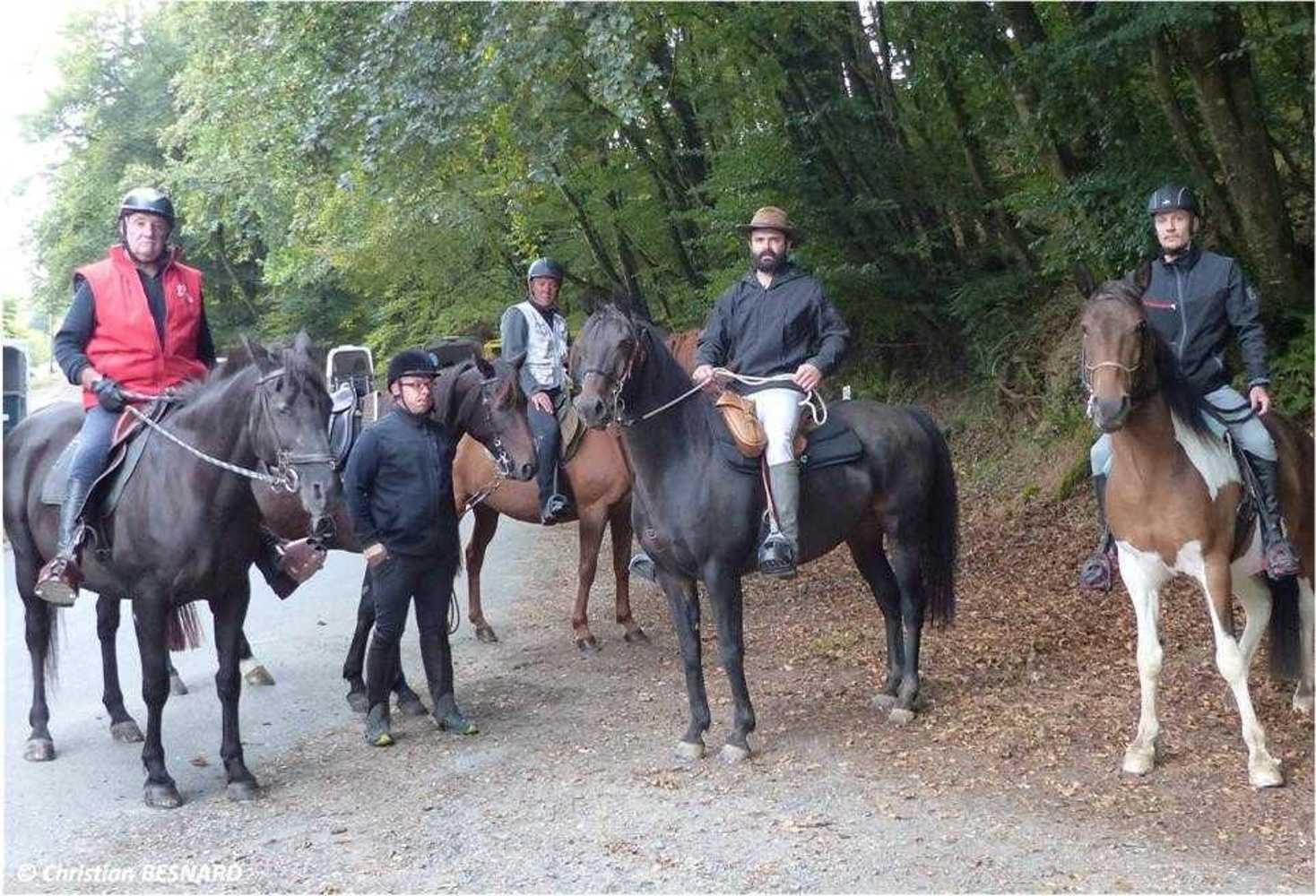 Photos de la randonnée équestre du dimanche 16 septembre image6