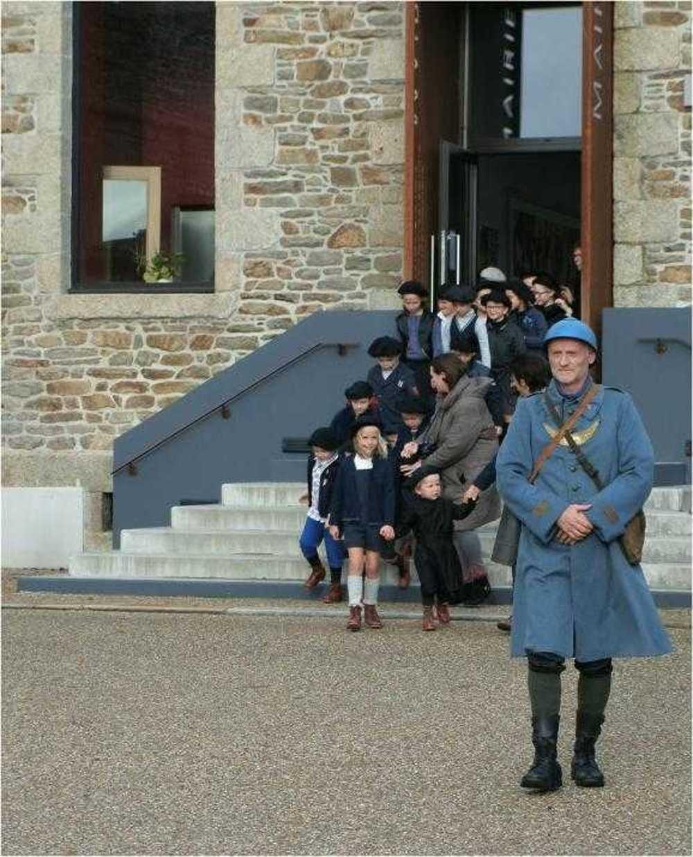 Photos de la commémoration du centenaire de l''Armistice image2