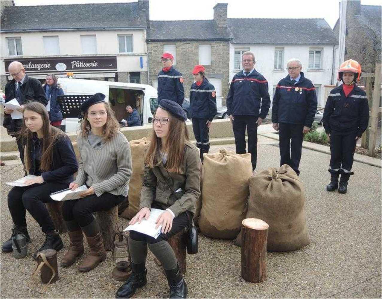 Photos de la commémoration du centenaire de l''Armistice image4