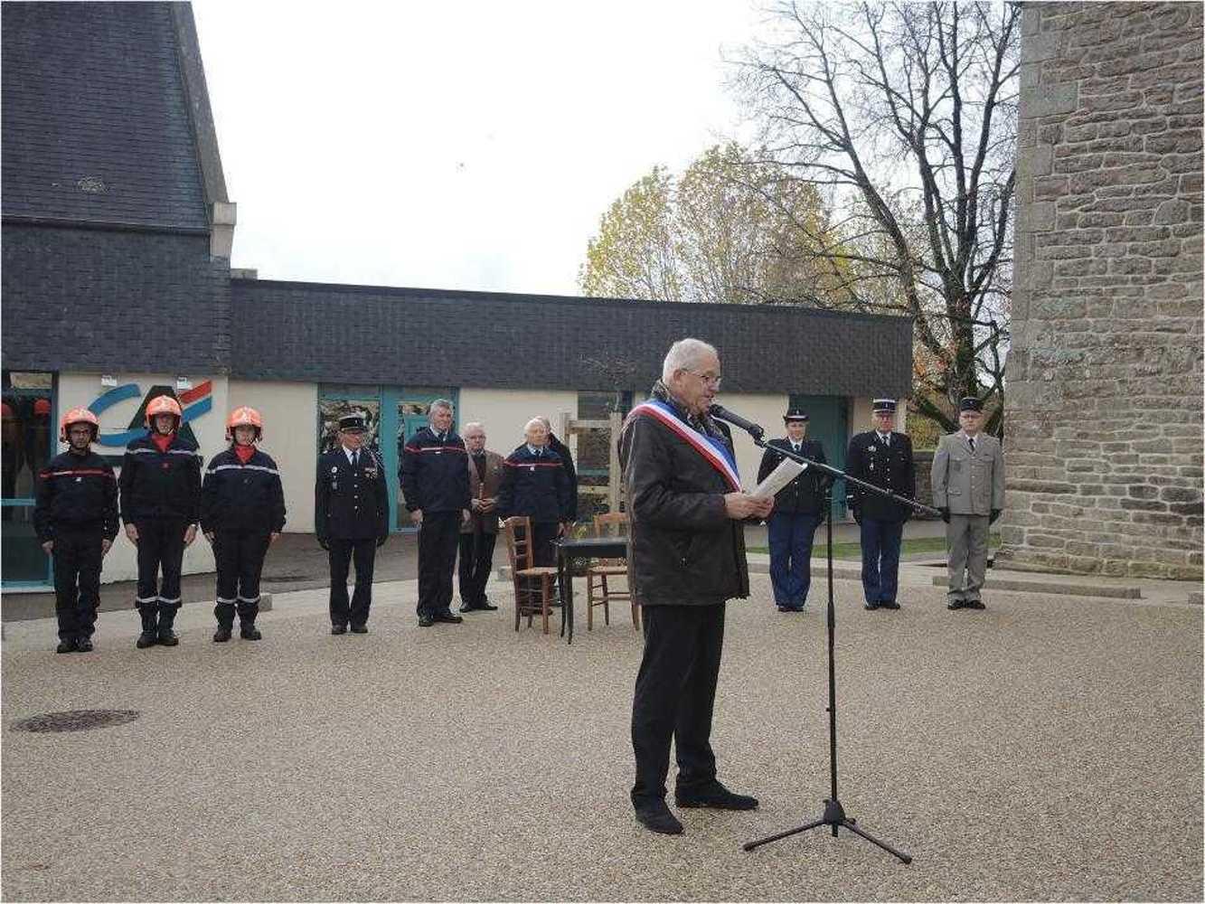 Photos de la commémoration du centenaire de l''Armistice image7