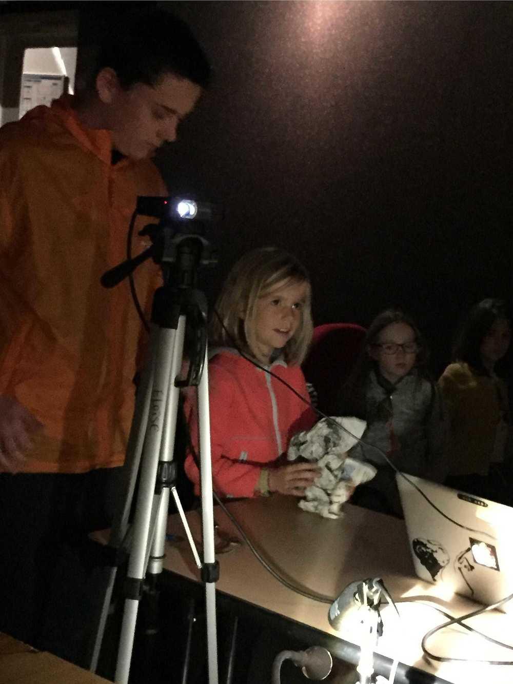 Photos et lien vidéo de l''atelier bruitage au Cithéa image1
