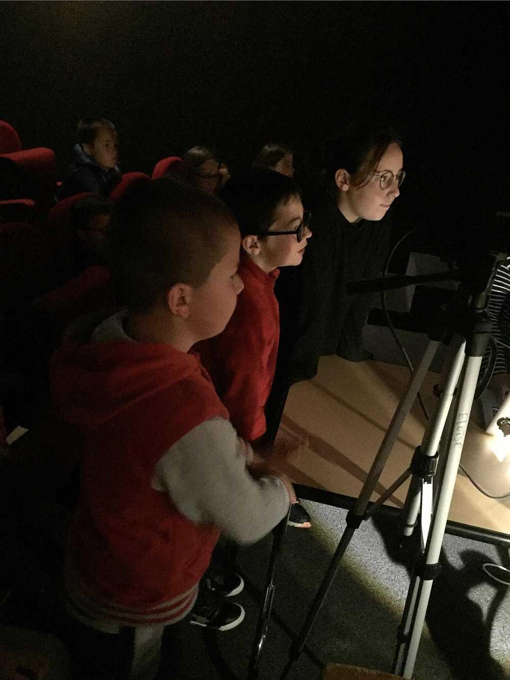 Photos et lien vidéo de l''atelier bruitage au Cithéa image2