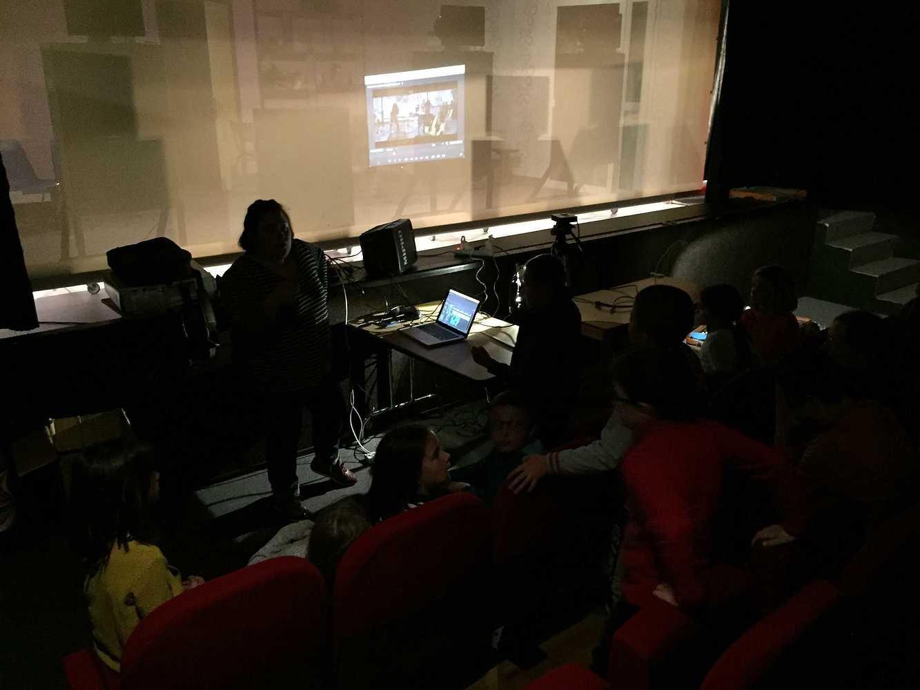 Photos et lien vidéo de l''atelier bruitage au Cithéa img6750