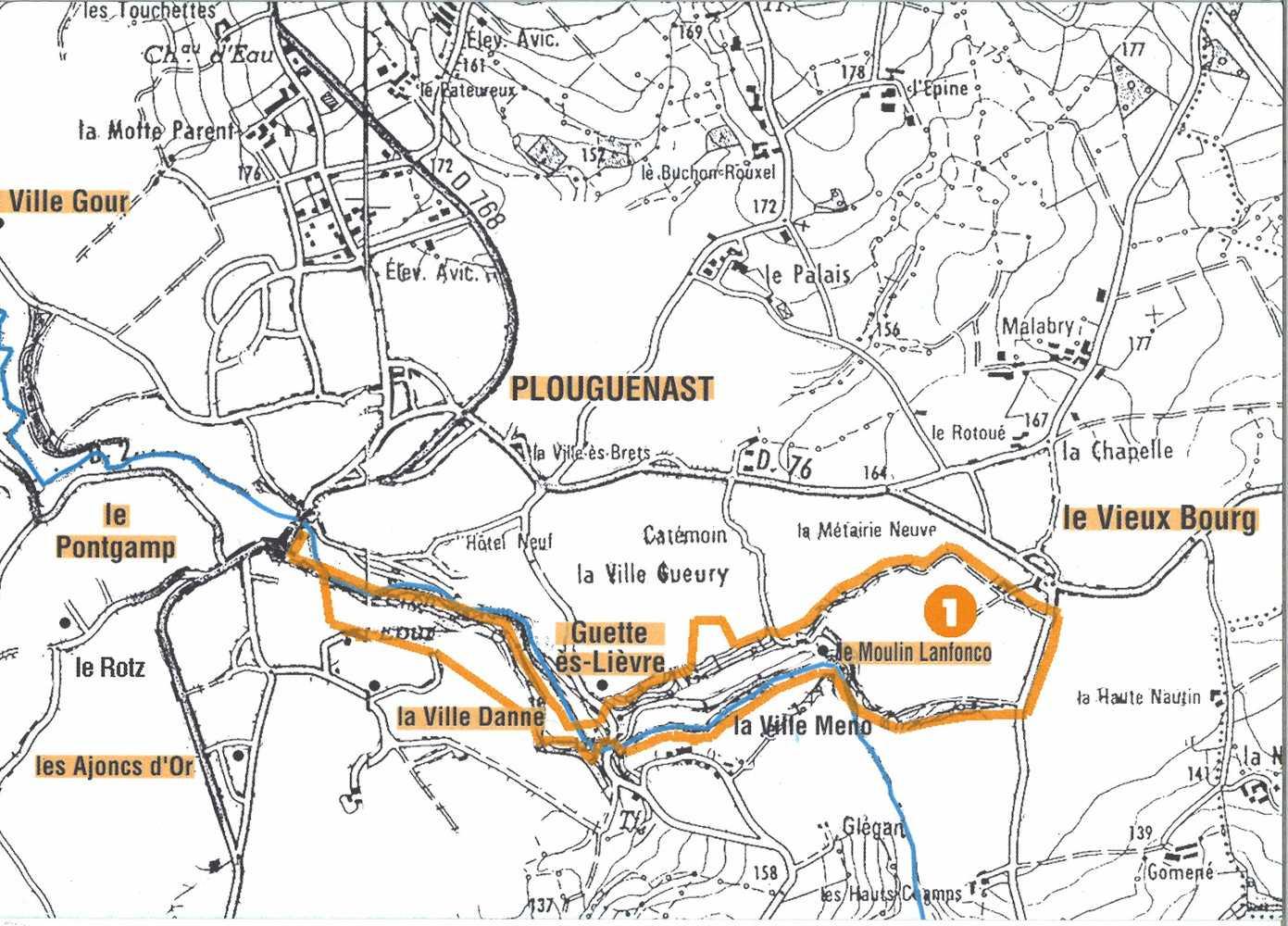 Circuit de Guette-es-Lièvres 5,4 km 0
