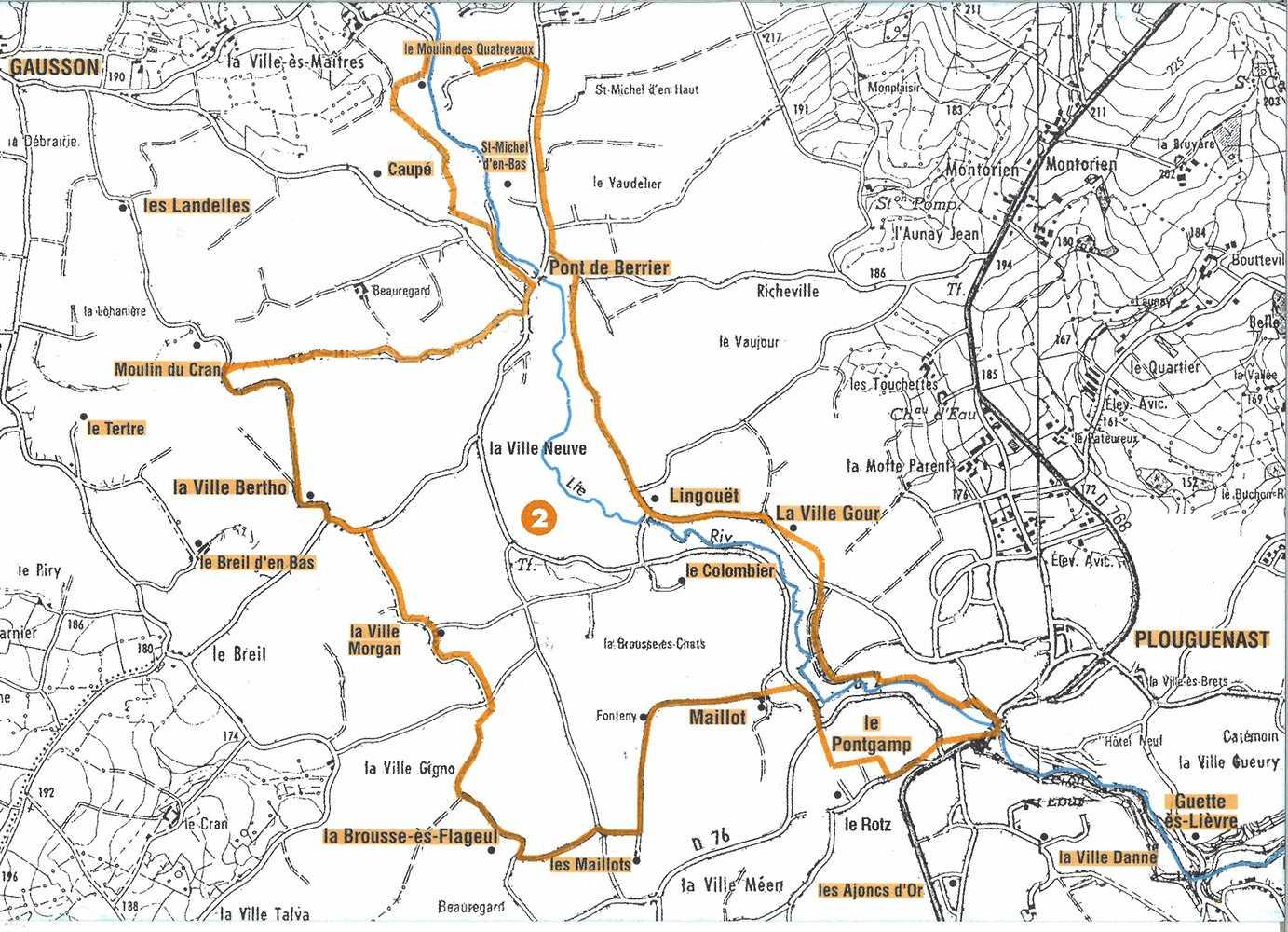 Circuit des Moulins 12,5 Km 0